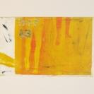 Sans titre 3 2011 Estampes monotypes sur papier chiffon 14,5'' x 11''