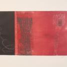 Sans titre 2 2011 Estampes monotypes sur papier chiffon 14,5'' x 11''