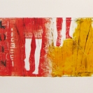 Sans titre 1 2011 Estampes monotypes sur papier chiffon 14,5'' x 11''