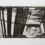 Sans titre 2011 gravure sur papier chiffon 11.5''x15''