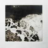 Sans titre 2011 gravure sur papier chiffon