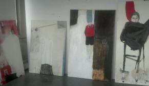 Vue de l'atelier 2013 (expo Gesù)