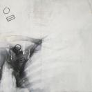 Amplitude 2011 Acrylique et technique mixte sur bois 48'' x 36''