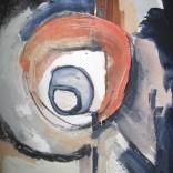 Sans titre, 2008, acrylique sur papier 10'' x 13,5''