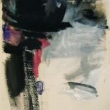 La témoin 2008 Technique mixte sur papier chiffon 11'' x 19''