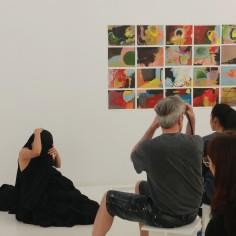 Vernissage de l'exposition collective Le phénomène de l'instant présent, 21 juin 2019, le Livart 3980 Rue Saint-Denis Montréal